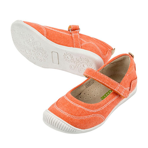 Charlotte Girls Canvas Maryjane - Orange