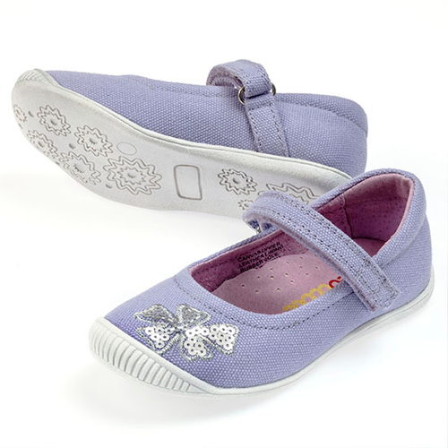Chloe Girls Canvas Maryjane  - Lilac