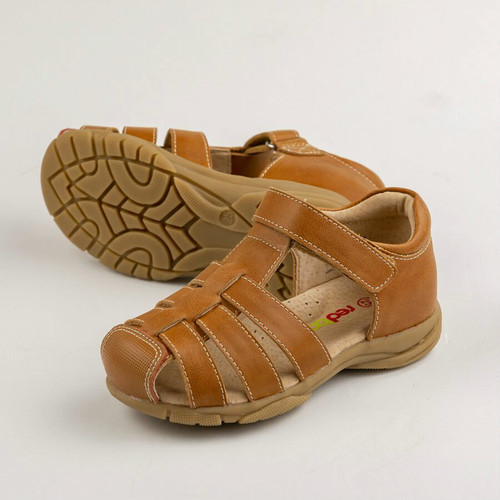 Nicky Boys closed toe sandals - Tan
