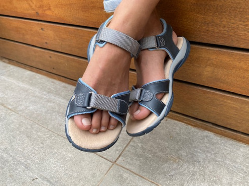 Ben Boys Leather Open Sandal