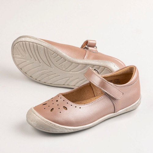 Summer Girls Leather Maryjane - icy pink