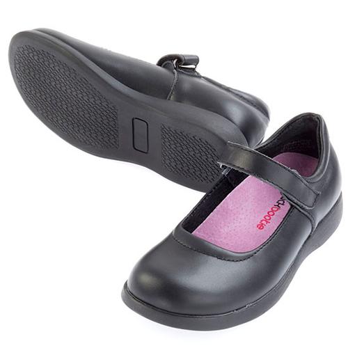 Liberty leather Mary Jane School Shoe - Black