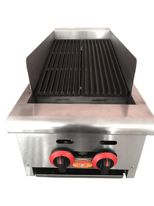"""Char Broilers Charbroiler Small SG4212 14"""" Compact"""