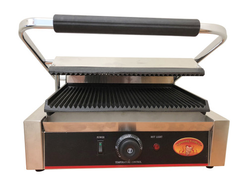Multi Contact Panini Sandwich Grill with Grooved
