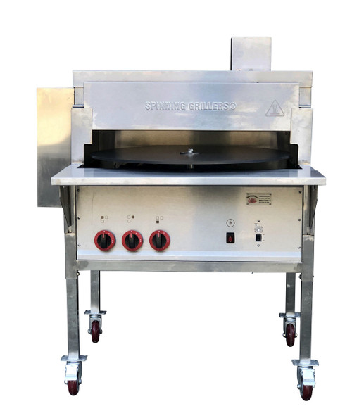 "New 2020 Pita Oven Small 30""- PitaOven- Pita Bread, Tortilla, Naan Bread Oven- Natural Gas- Generation V 2020 - NEW"