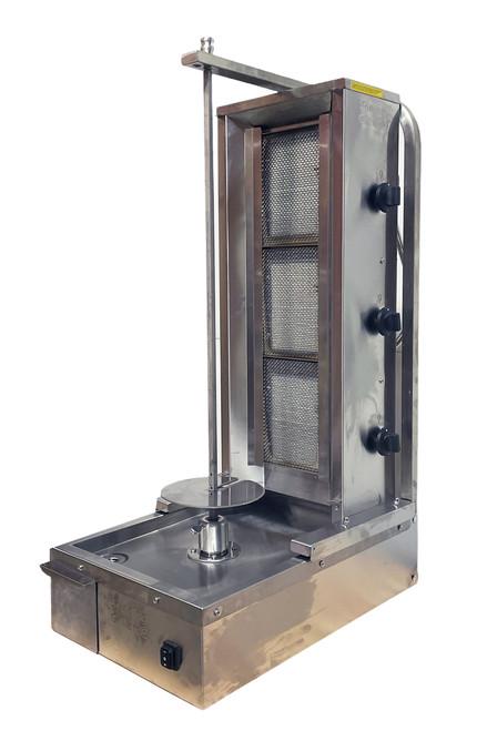 Shawarma Machine- 3 Burners- Space Saver