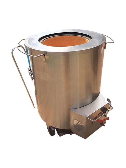 Tandoori Grill- TanDooriGrillers Propane Stainless Steel Outdoor Home Tandoor Oven