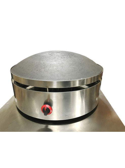 "Saj Bread / Laffa Bread / Taboon Bread Maker - Natural Gas 31 1/2 "" Diameter"