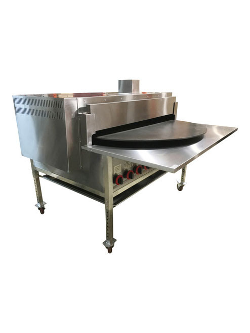 "Large 48""  Pita Oven Turn Table - PitaOven- Pita Bread, Tortilla, Naan Bread Oven- Natural Gas- Generation III - German Burners"