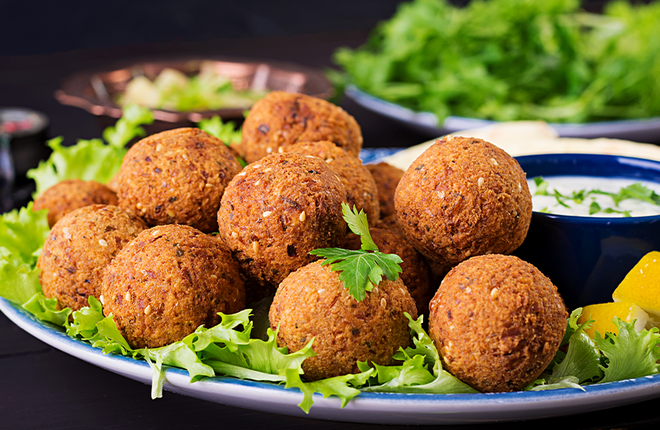 Falafel Balls Ingredients, Methods and Machines by Spinning Grillers
