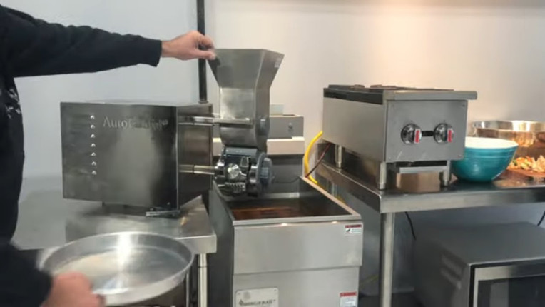 AutoFalafel/ Automatic Falafel Machine by Spinning Grillers New York