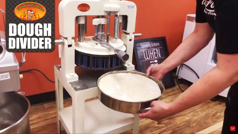 Dough Divider by Spinning Grillers New York