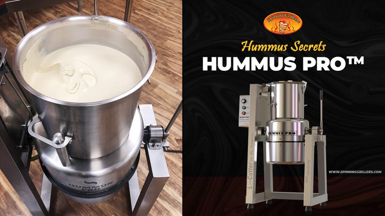 Hummus Pro™ - Commercial Hummus Processor and Blender