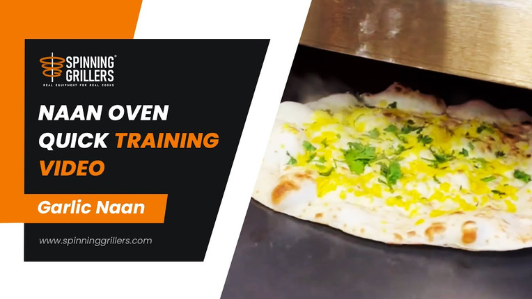 Naan Roti Machine- Make Naan, Roti and Chapati by Spinning Grillers