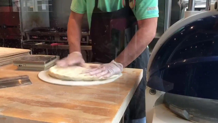 Pita Bread Divider and Rounder by Spinning Grillers!