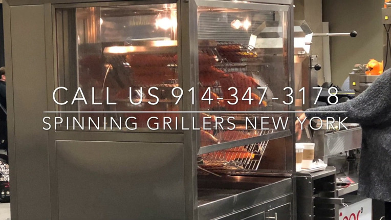 Automatic Charcoal/ Wood Fired Chicken Grill