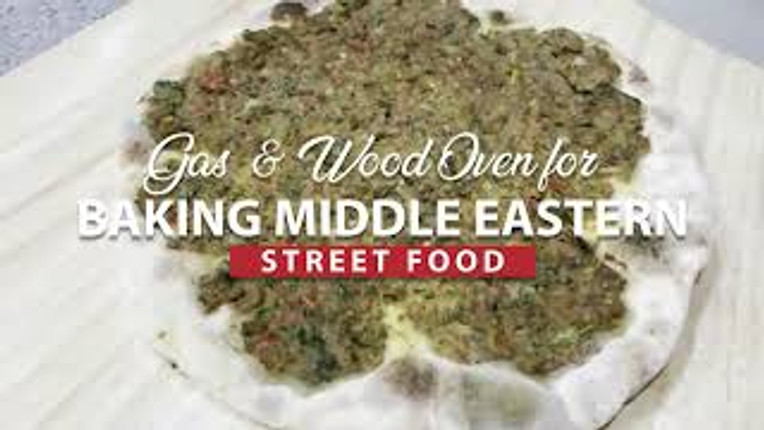 Gas & Wood Ovens for Baking Middle Eastern Street Food