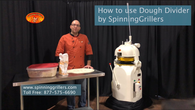 How to use Dough Divider by Spinninggrillers