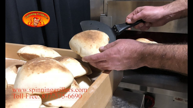 Spinning Grillers New York - Pita Bread Oven- Naan Oven