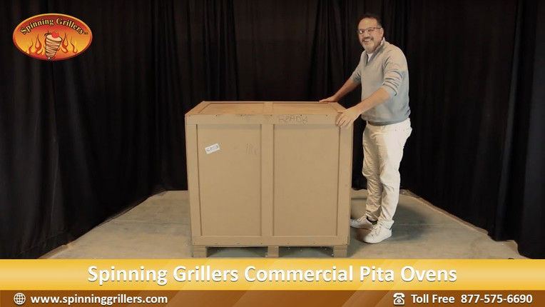 Unpacking and Assembling Your Spinning Grillers Pita Oven - Arabic