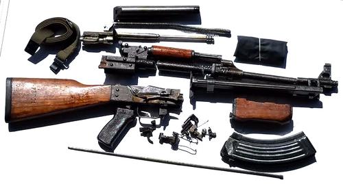 Yugoslavian M72B1 RPK Parts kit