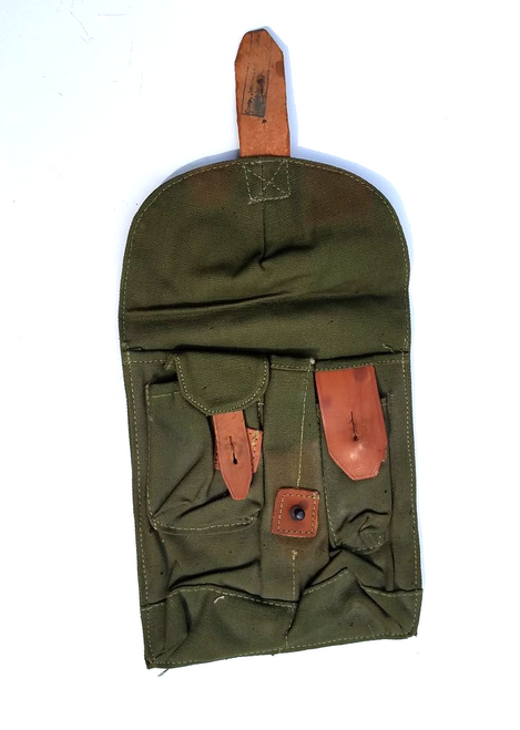 Romanian Canvas 2 cell Mag pouch