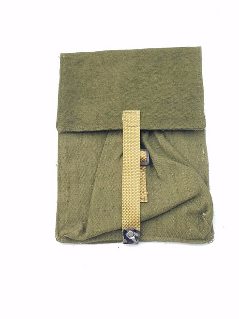 Romanian Canvas 2 cell mag pouch with buckle