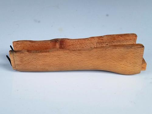 Romanian wood lower hand guard.