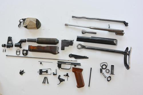 Polish AKS underfolder Milled AK47 parts kit. complete minus barrel and receiver.