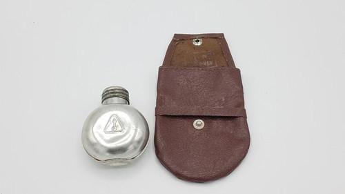 Original Izhmash metal oil bottle and pouch