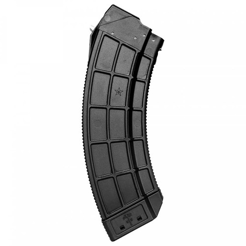 US PALM AK30R 7.62X39 30RD POLYMER MAGAZINE - Black