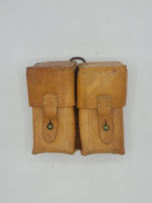 Yugo leather SKS stripper clip pouch
