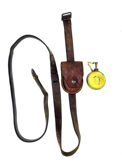Early leather Yugo sks sling.