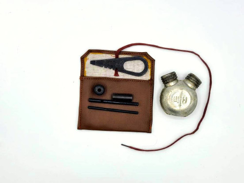 Mosin Nagant cleaning kit and oil bottle