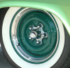 Our 3 Ribbed Trim Rings shown with our Spider Hub Covers