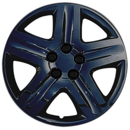 """Black Wheelcovers - hm-431-17b Custom 17"""" Hub Caps"""