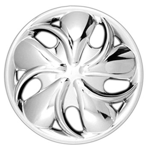 14 inch Hubcap with an All Chrome Finish New Aftermarket Wheelcover