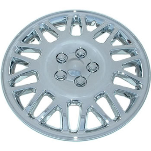 "15"" hubcap chrome finish wheel cover"