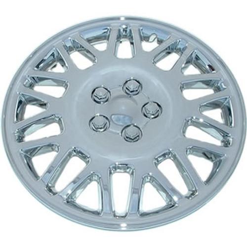 "15"" hubcap chrome finish wheel cover"