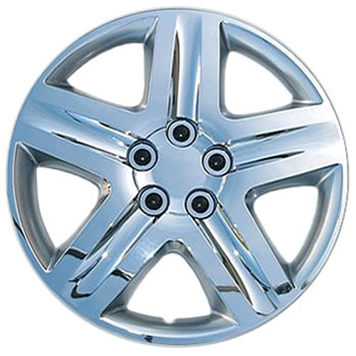 16' Hub Cap Chrome Finish 16 inch Wheel Covers