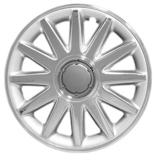 16 inch Hubcap - Custom 123-16c Chrome Finish