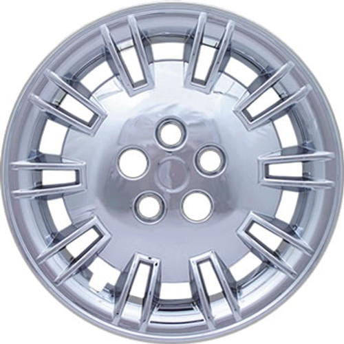 """17 inch Hubcaps - Chrome Finish - Fits 17"""" Wheels (R-17 tires)"""
