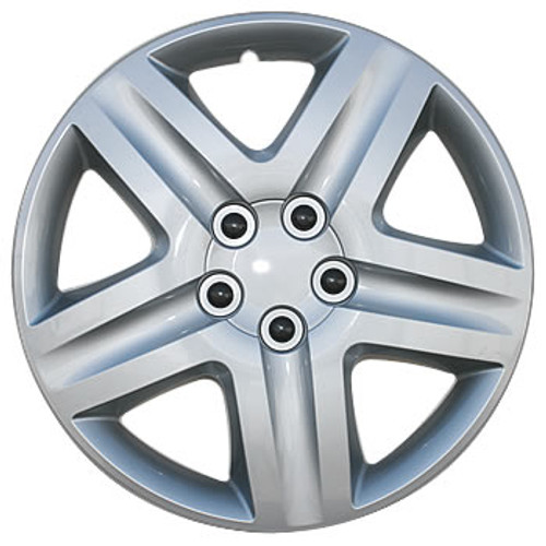 17 inch Hub Caps Silver Finish Wheel Covers