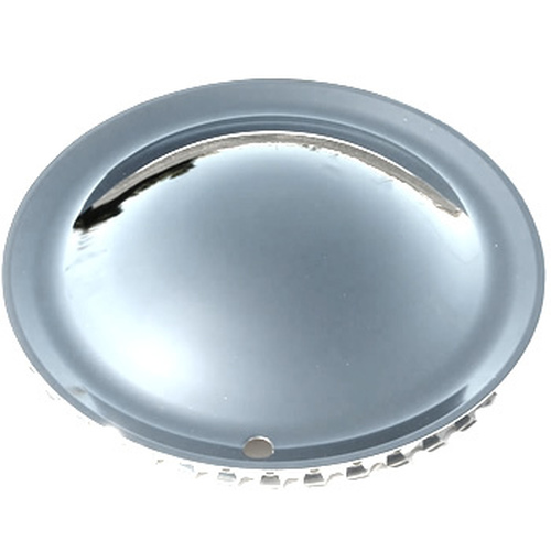 13 inch Smoothie Moon Wheel Cover Solid Steel Chrome Full Moon Hubcap