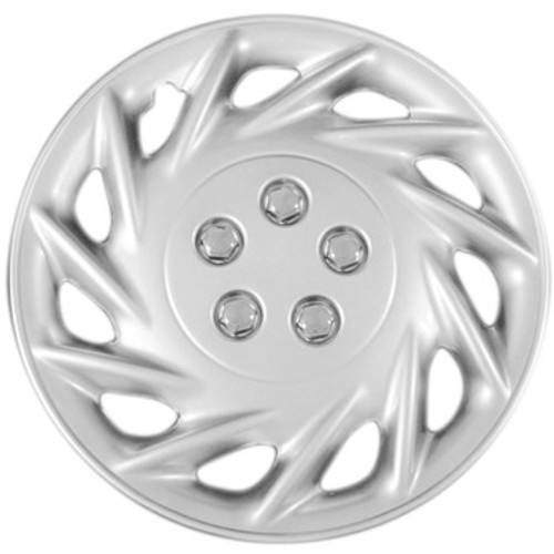 15 inch hubcaps silver finish wheel covers