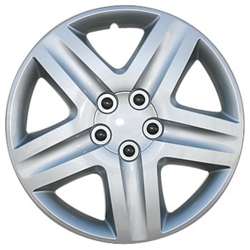 """16"""" Hubcaps Silver Finish Wheel Cover"""