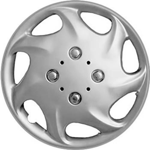 1998 1999 Nissan Altima Wheel Covers 15 inch Silver Finish Altima Hubcap