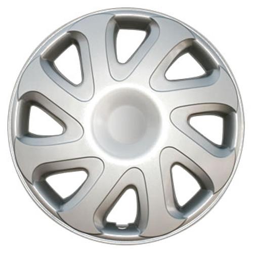 2000 2001 2002 Toyota Corolla Hubcaps 14 inch Replica Silver Corolla Wheel Cover