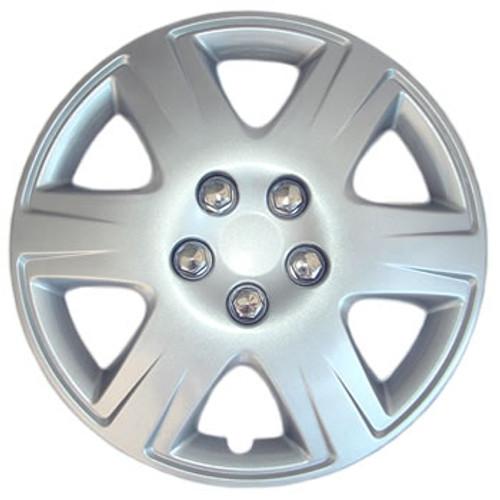 2005 2006 2007 2008 Corolla Hubcaps Silver 15 inch Corolla Wheel Covers