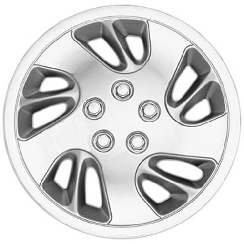 1997 - 1998 Chevy Malibu Hubcaps 15 inch Chrome Finish Malibu Wheel Covers
